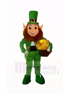 Drôle Elfe Lutin Lutin Mascotte Costume Dessin animé