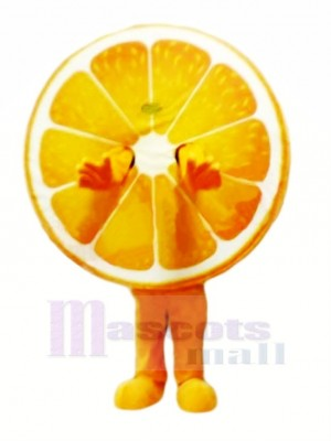 Juteux Orange Mascotte Costume Dessin animé