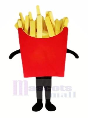 Délicieux Patate frites Mascotte Costume Dessin animé