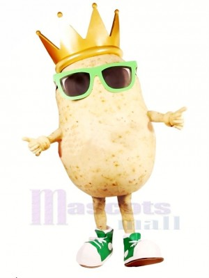 Cool Patate Mascotte Costume Dessin animé