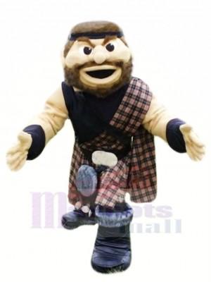 Fort Highlander Mascotte Costume Gens
