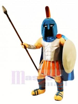Cool spartiate Mascotte Costume Personnes