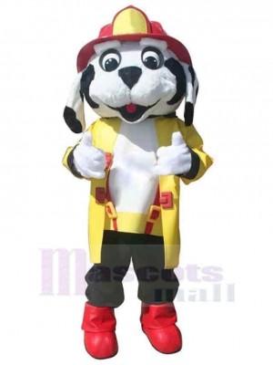 Chien de feu professionnel mignon Costume de mascotte Animal