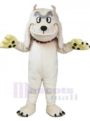 Chien Shar Pei blanc Costume de mascotte Animal