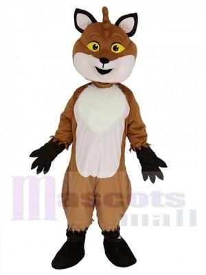 Renard costume de mascotte