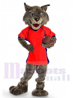 Bobcat costume de mascotte