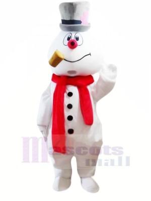 Mignonne Bonhomme de neige Mascotte Les costumes Dessin animé Noël