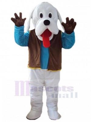 Chien costume de mascotte