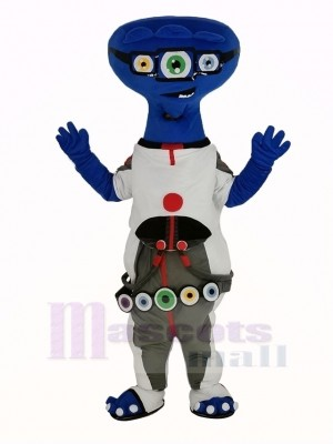 Trois yeux Extraterrestre Mascotte Costume