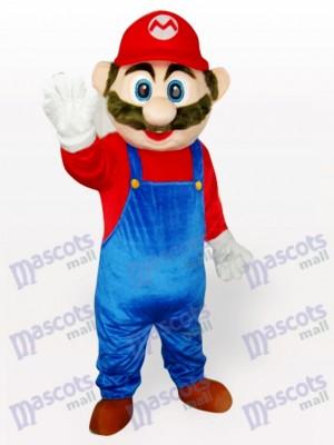 Costume drôle de mascotte adulte Super Mario Anime
