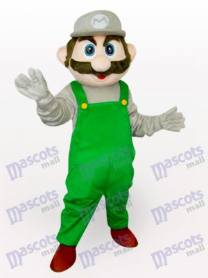 Costume de mascotte adulte verte Super Mario Bros Anime
