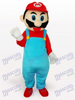 Costume de mascotte adulte rouge Super Mario Bros Anime