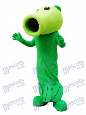 Plantes vs Zombies Peashooter mascotte Costume Plant