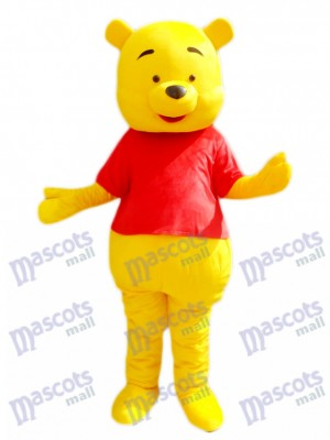 Winnie l'ourson Mascotte Costume de bande dessinée