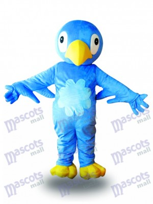 Costume de mascotte oiseau bleu Animal