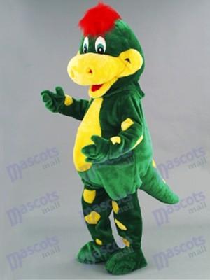 Costume de mascotte dinosaure Dino vert Animal