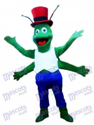 Insecte Costume mascotte Grasshoppers vert