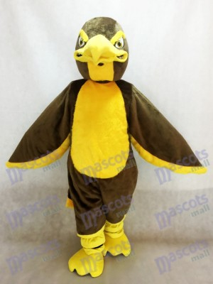 Costume de mascotte faucon marron faucon Animal
