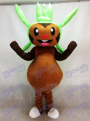 Chespin Pokemon Pokémon GO Mascotte Costume Poche Monster Grass Type Chespie