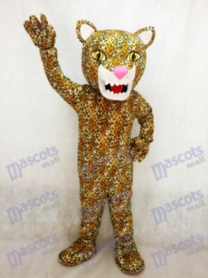Nouveau Costume de mascotte Jaguar Animal