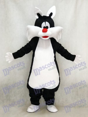 Costume de mascotte chat noir Animal