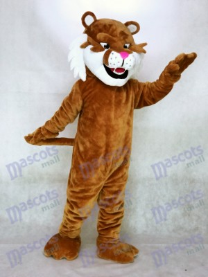 Nouveau costume de mascotte de tigre de sabre réaliste Animal