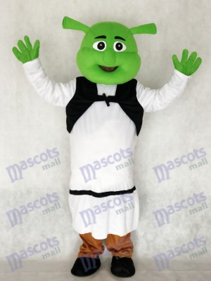 Shrek Mascotte Costume Adulte Dessin Animé