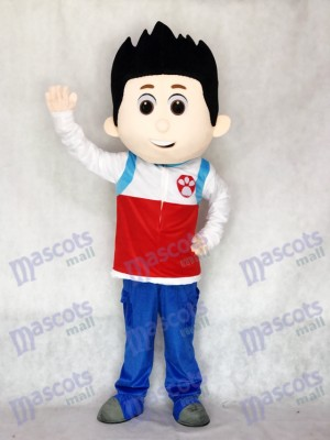 Paw Patrol Ryder Mascotte Costume Cosplay Dessin Animé Mascotte Costume TYPE B