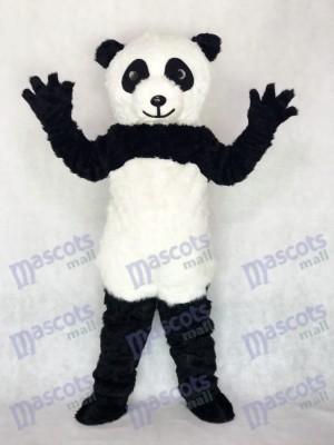 Costume adulte de mascotte de panda Zoo animalier