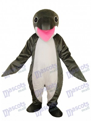 Gris manchot Mascotte Costume adulte océan