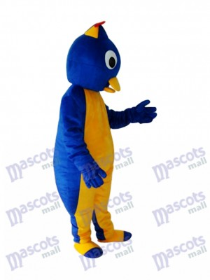 Bleu manchot 2 Mascotte Costume adulte océan
