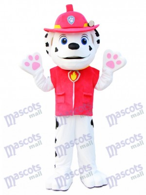 Paw Patrol Marshall patte patrouille Dalmatien chien Mascotte Costume Cartoon Anime