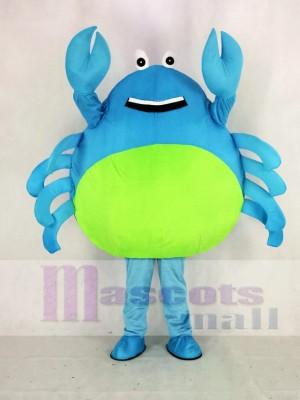 Chaud VenteBleu Crabe Mascotte Costume Dessin animé