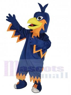 Bleu foncé Phénix Costume de mascotte Animal
