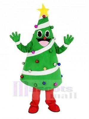 Noël Arbre Mascotte Costume Dessin animé