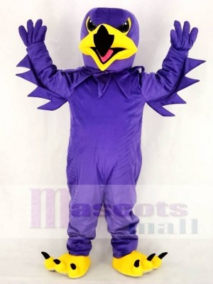 Violet Nuit faucon Mascotte Costume École