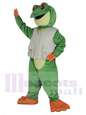 Grenouille costume de mascotte