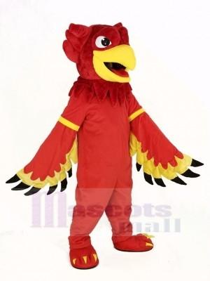 rouge Aigle Griffon Mascotte Costume