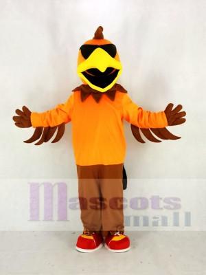 Cool Roche poulet Coq Mascotte Costume Dessin animé