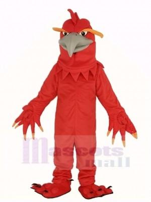 rouge Phénix Mascotte Costume Animal