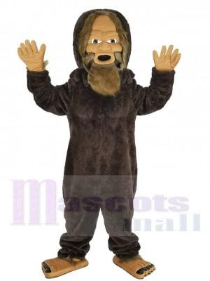 Sasquatch costume de mascotte