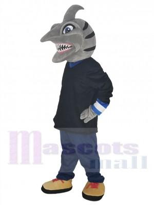 Requin costume de mascotte