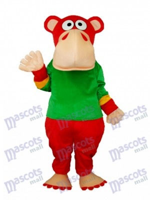 Drôle Gorille Mascotte Costume Adulte Animal