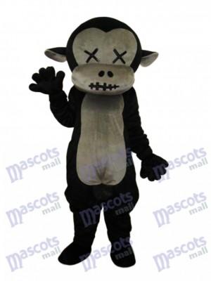 Mr.Jump singe mascotte costume adulte animal