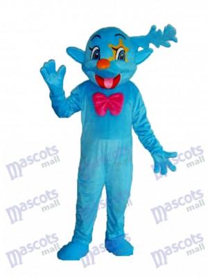 Bleu Fée Mascotte Adulte Costume Anime de dessin animé