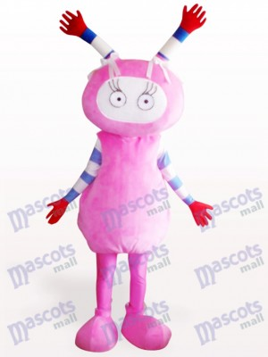 Costume de mascotte adulte rose Fairy Party