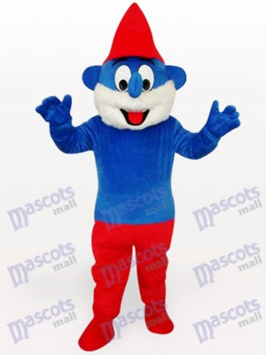 Costume de mascotte adulte Blue Spirit Anime