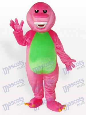 Costume de mascotte adulte lapin rose