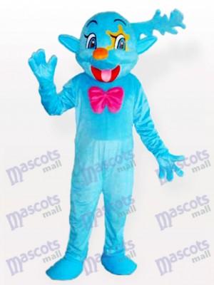 Costume de mascotte adulte bleu fée