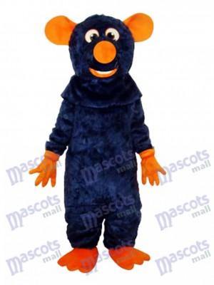 Grande Dent Noire Souris Mascotte Costume Animal